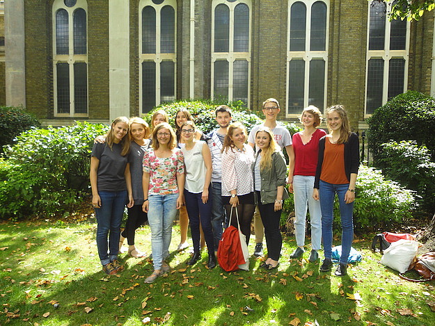 The 2014-2015 volunteer generation at their last seminar in London!