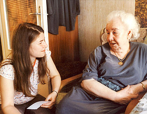 Volunteers in Poland work with survivors of the Shoah or with former forced labourers.